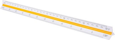 Khyati Architectural Opaque Plastic Rulers(Set of 1, Yellow)