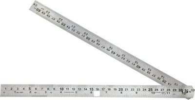 Kristeel Folding Opaque Stainless Steel Rulers
