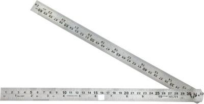 Kristeel Folding Opaque Stainless Steel Rulers(Set of 1, Steel)