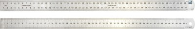 Kristeel Contraction Opaque Stainless Steel Rulers(Set of 1, Steel)