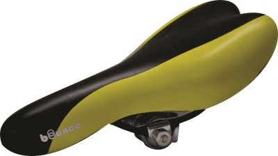 Bounce Bicycle/Cycle Seat PU Saddle(Yellow, Black)