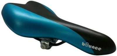 Bounce Bicycle/Cycle Seat PU Saddle(Blue, Black)