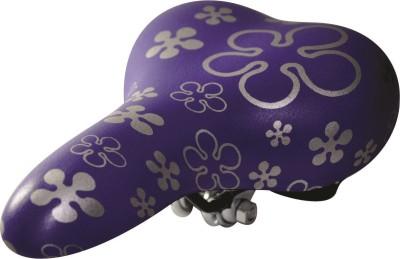 Lemon Bicycle Seat Pu Saddle(Purple, Silver)