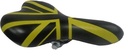 Lemon Bicycle/Cycle Seat PU Saddle(Yellow, Black)