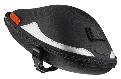 Shrih Bicycle Strap On Seat Post Saddle(Black, Silver)