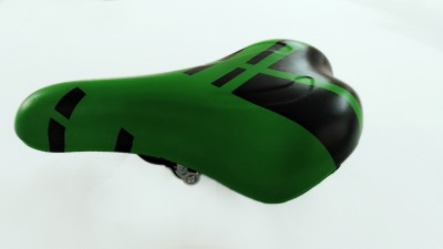 BOUNCE Bicycle Cycle Seat PU Saddle(Green)