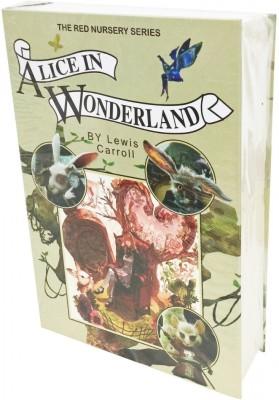 Taino Alice in Wonderland book design Hidden Book Safe with Real Paper Safe Locker(Key Lock)