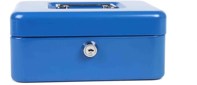 Shraddha Collections Plain Cash Box Safe Locker(Key Lock)