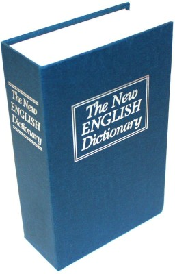 Packnbuy Dictionary Book Safe Locker(Key Lock)