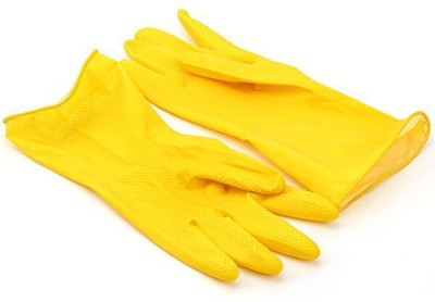"DIY Craftsâ""¢ Kitchen Hand Gloves,Household Gloves Long Cleaning Nylon  Safety Gloves(2)"