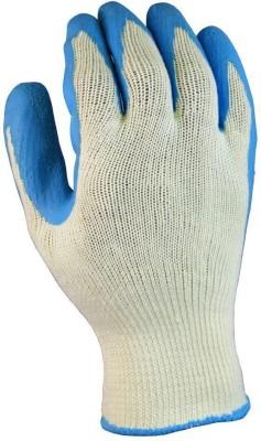 DIY Crafts LATEXCOTTON15 Nylon  Safety Gloves(2)