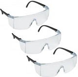 AREX 3M 1709IN Safety Goggles (Pack of 3...