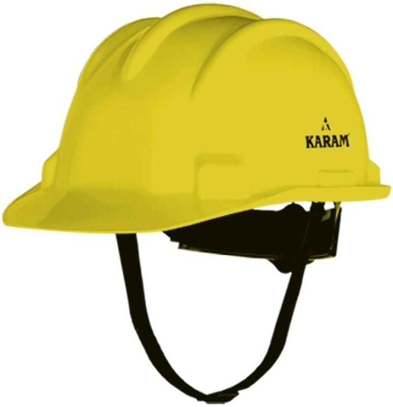 Karam 521 Construction Helmet(Size - FREE-SIZE)