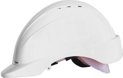Saviour HPSAV FR SS1 W Freedom with Ratchet HDPE -White Construction Helmet