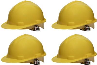 Metro Nape SH-1204 Pack of 4 Metro Construction Helmet