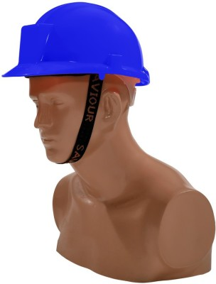 Saviour HPSAVTHRB Tough Hat with Ratchet -Blue Fire Fighting Helmet
