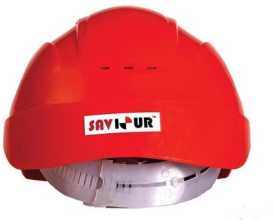 Saviour HPSAV FR SS1 RE Freedom With Ratchet Red Construction Helmet