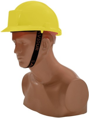 Saviour HPSAVTHRY Tough Hat With Ratchet -Yellow Fire Fighting Helmet