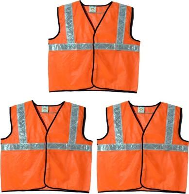 Brite Eye Safety Jacket(Fluorescent Orange)