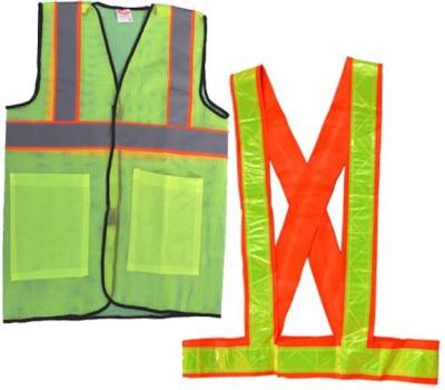 Tutu Safety Jacket(Fluorescent Green, Fluorescent Orange)