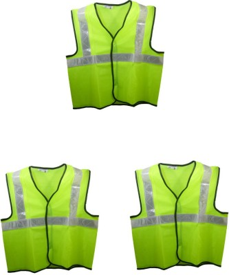 Brite Eye Safety Jacket(Fluorescent Green)
