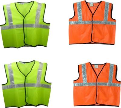 Brite Eye Safety Jacket(Fluorescent Green, Fluorescent Orange)