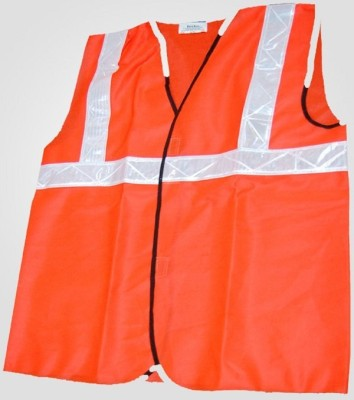 PSWNITRILE Safety Jacket(FLUORESCENT RED)