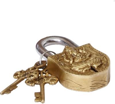 Unravel India Brass Ganesha Safety Lock