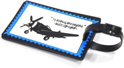 Random in Tandem Airplane Explorer Luggage Tag
