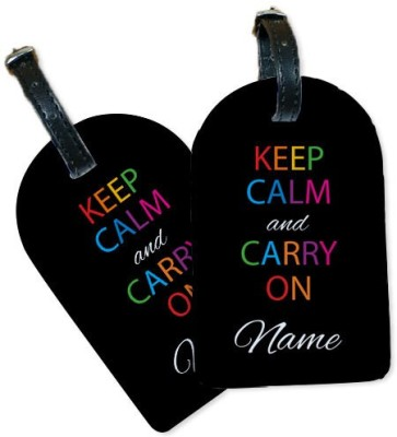 Perfico KeepCalm Luggage Tag