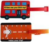 Tootpado Luggage Tag How Was Your Bus Tr...