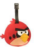 Funcart Angry Bird Luggage Tag (Red)