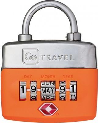 Go Travel Birthday lock- Orange Safety Lock