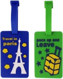 Tootpado Luggage Tag Travel in Paris, Pa...