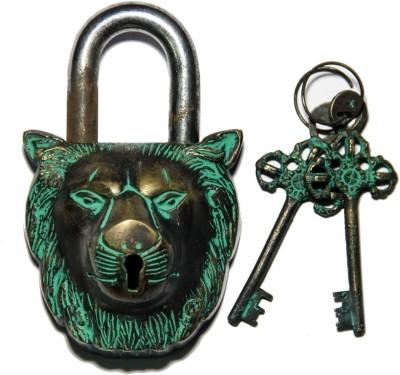 Unravel India Wolf Brass Safety Lock