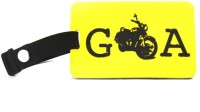 Happily Unmarried Goa Bike Luggage Tag(Yellow) best price on Flipkart @ Rs. 199