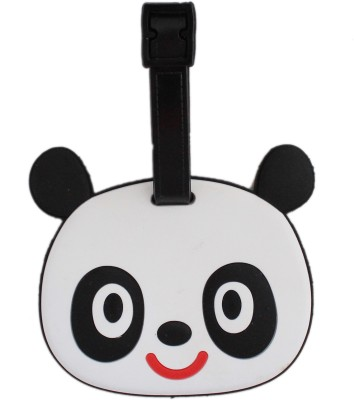 Tootpado Baby Panda Cartoon Design Travel Bag - 1i391 Luggage Tag