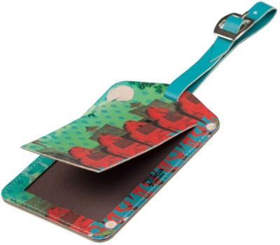 India Circus Stallions of Command (Set of 2) Luggage Tag