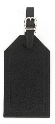 Rene R-2669-Black Luggage Tag