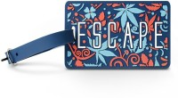 Happily Unmarried Escape Luggage Tag Safety Lock(Blue) best price on Flipkart @ Rs. 199