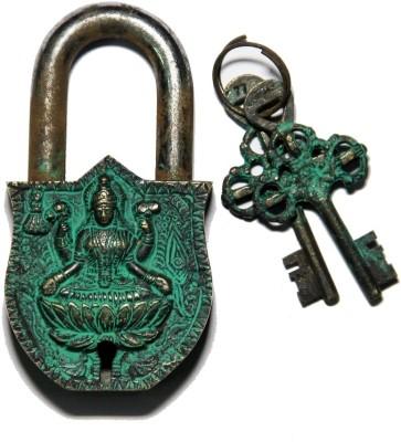 Unravel India Lakshmi Brass Safety Lock