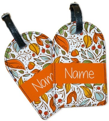 Perfico Autumn Luggage Tag