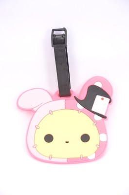 Shrisay Ventures Pink Bunny Pack Of 2 Luggage Tag