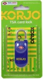 Korjo TSACL TSA CARD LOCK BLUE Safety Lo...