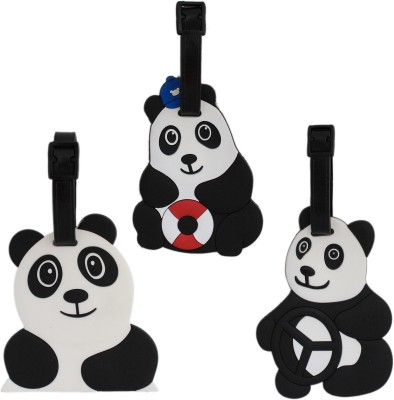 Tootpado Travel Bag - Panda (Pack of 3) 1i405 Luggage Tag