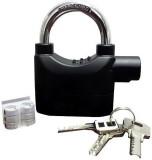 Big Impex Alarm lock Safety Lock (Black)