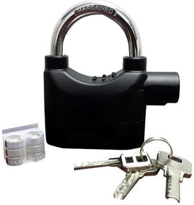 IBS Steel Metallic door lock(Black)
