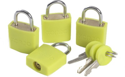 Korjo Colourful Luggage Locks