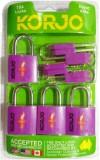 Korjo KTSALL4PUR Safety Lock (Purple)