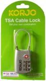 Korjo KTSAFCSL Cable Lock (Silver)
